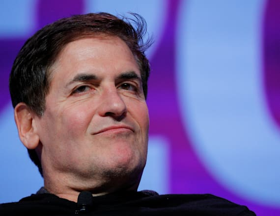 Mark Cuban grades Trump's first 100 days