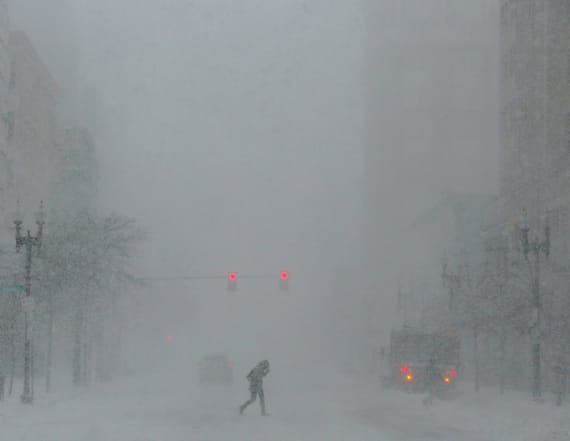 Blizzard warning as another snowstorm looms