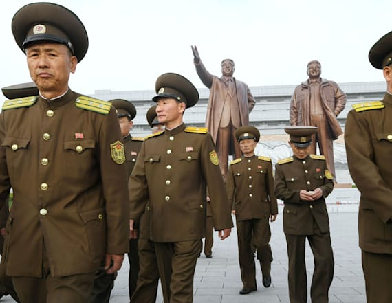 North Korea stages large-scale artillery drill