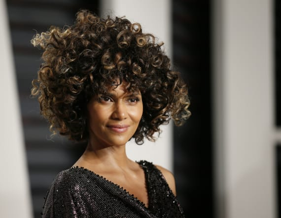 Halle Berry shares sexy skinny dipping video