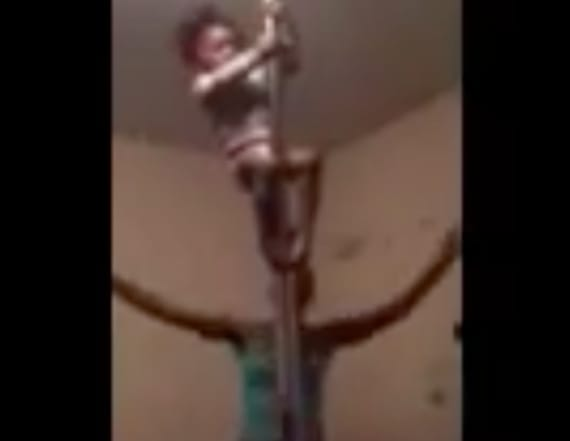 Video of toddler pole dancing causes outrage