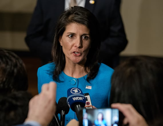 Nikki Haley threatens North Korea on interview