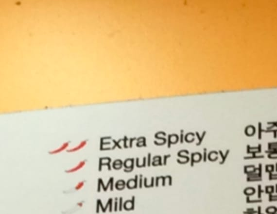 Korean restaurant stirs controversy for food label