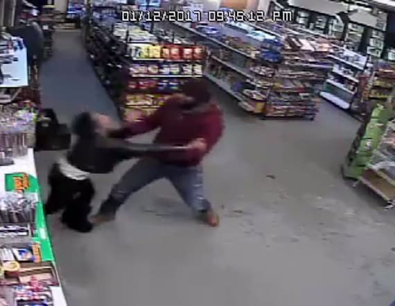 Video shows abduction of woman from store