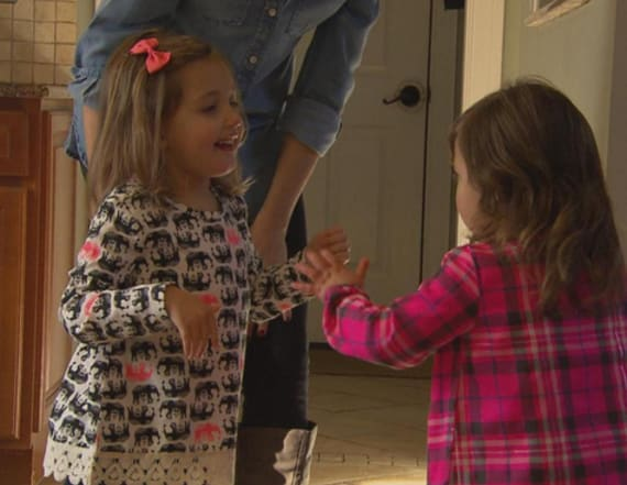Kids with rare disease travel 300 miles to befriends