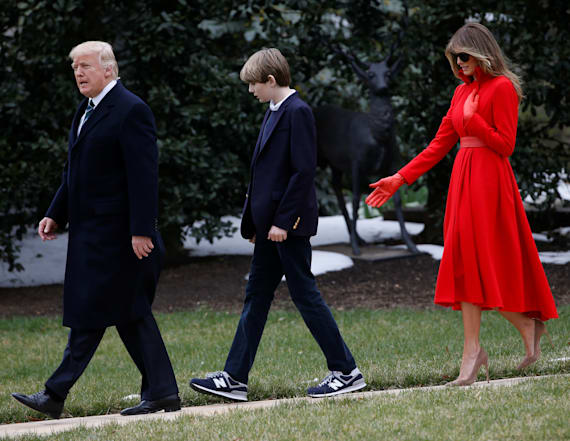 Melania Trump's proudest position is motherhood