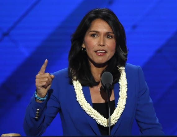 Gabbard is on a secret 'fact-finding' trip to Syria