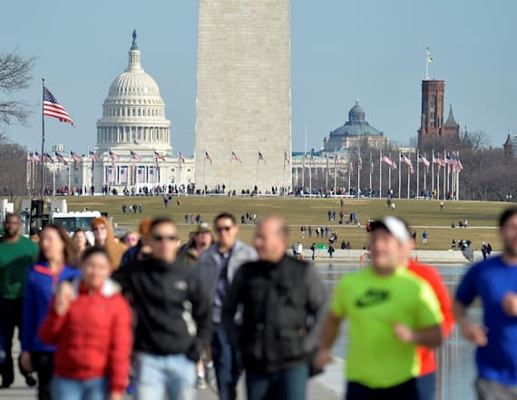 DC braces for tens of thousands of Trump protesters