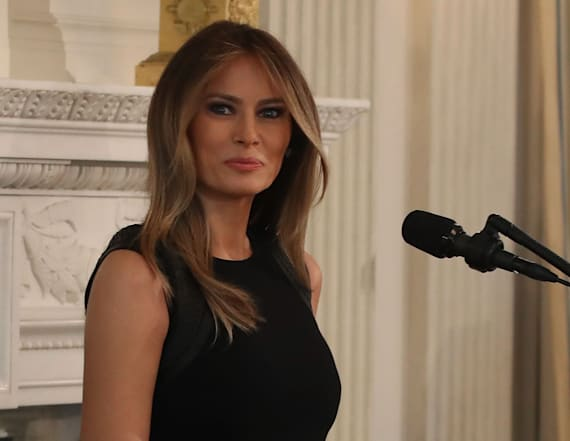 Scam claims that Melania Trump wants to give money