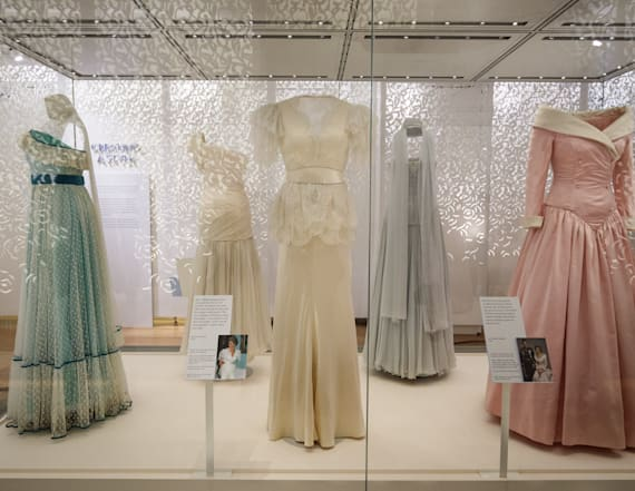 The Princess Diana fashion exhibit opens at Palace