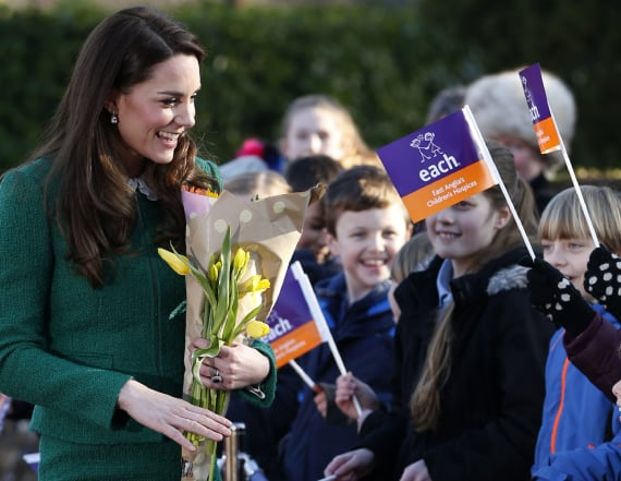 Duchess Kate says she's 'very lucky' to be a royal