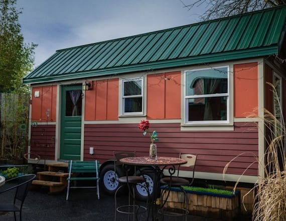 Tiny house hotel in Portland is a relaxation dream