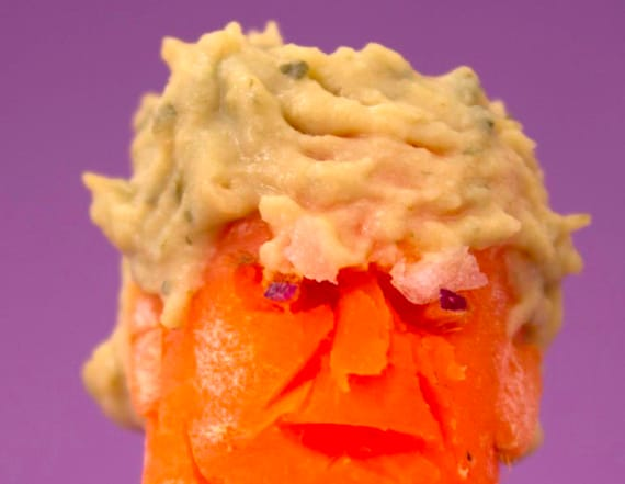 6 times Donald Trump has been made out of food