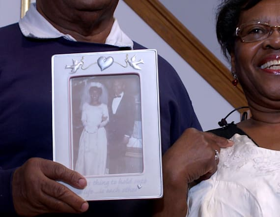 Woman to wear wedding dress at her 50th anniversary