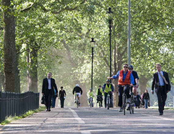 Type of commute makes you live longer