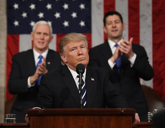Ratings revealed for first Trump address to Congress