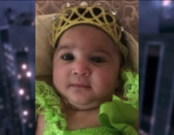 Infant found unconscious dies