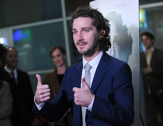 Shia LaBeouf debuts 4-year anti-Trump live stream