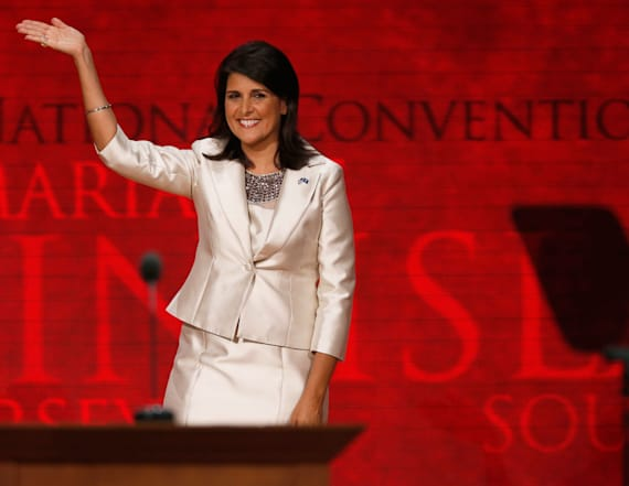 US Senate confirms Haley as Trump's UN ambassador