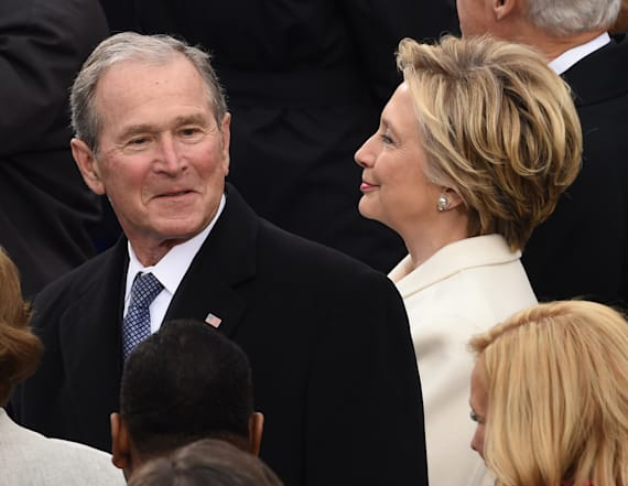 Bush opens up on Trump's war with the media