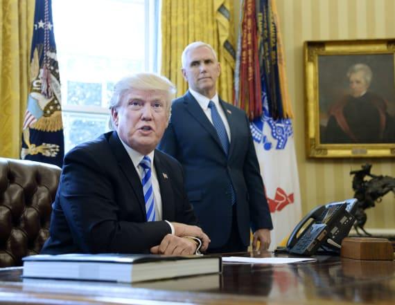 Trump: 'Democrats are smiling' over health care