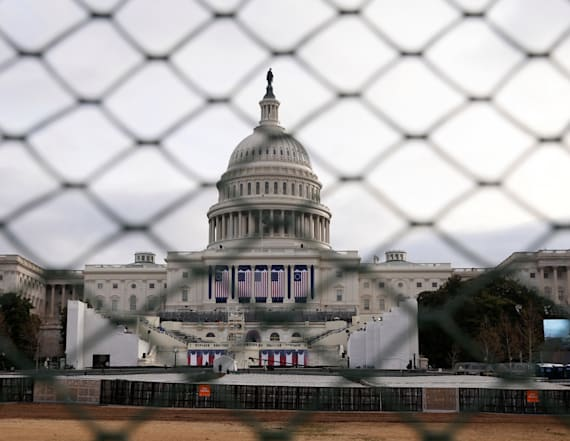 Washington turns into fortress ahead of inauguration