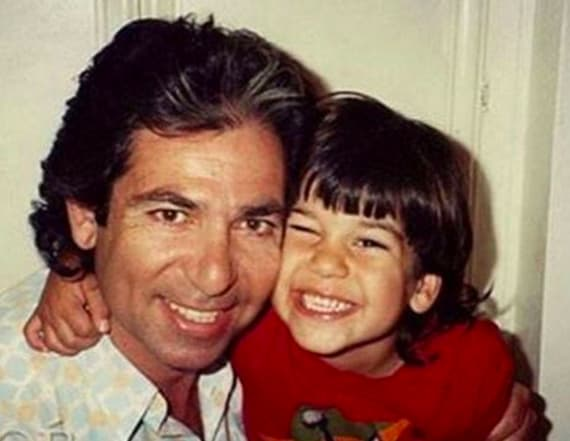 Rob Kardashian shares pics on late father's birthday