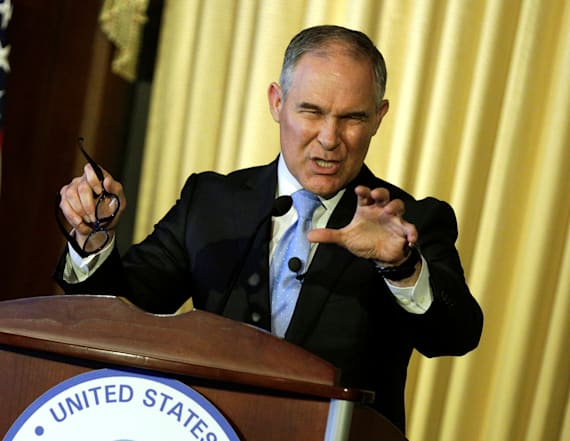 EPA chief's first speech avoids major issues