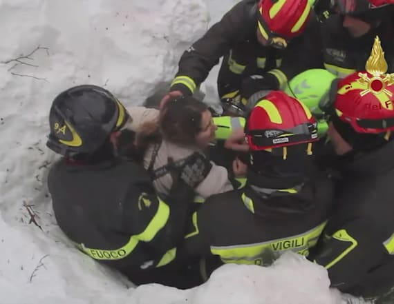 Italy hotel avalanche miracle: 10 found alive
