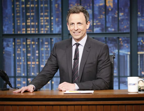 Seth Meyers says Trump is 'stealing bits' from 'SNL'