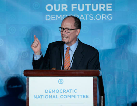 DNC narrowly elects Tom Perez as new chair