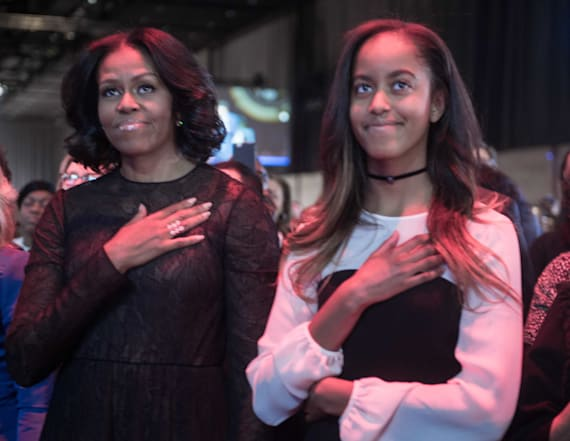 Michelle Obama calls John Lewis a 'great leader'