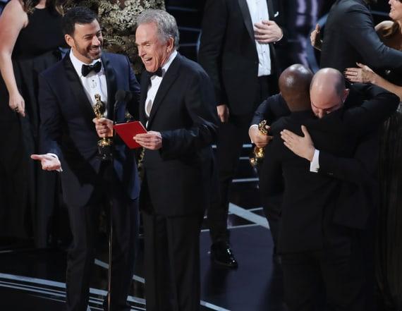 Jimmy Kimmel talks epic Oscar Best Picture flub