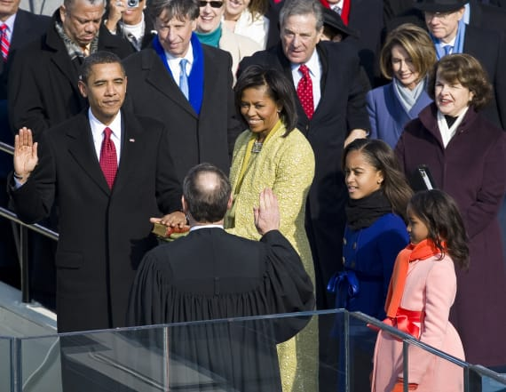 Obama flubbed the oath of office not once, but twice