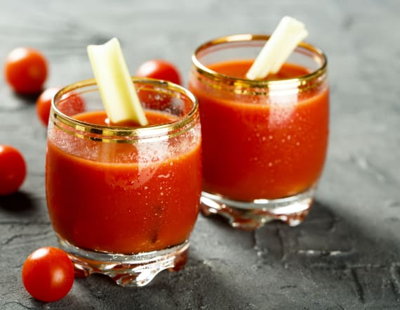 Why Bloody Marys taste better on the plane