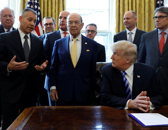 Trump faces obstacles after greenlighting pipeline