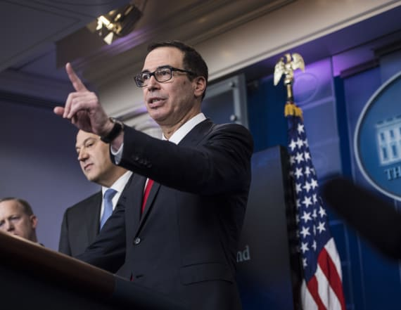 Mnuchin: Trump's tax plan may help middle class
