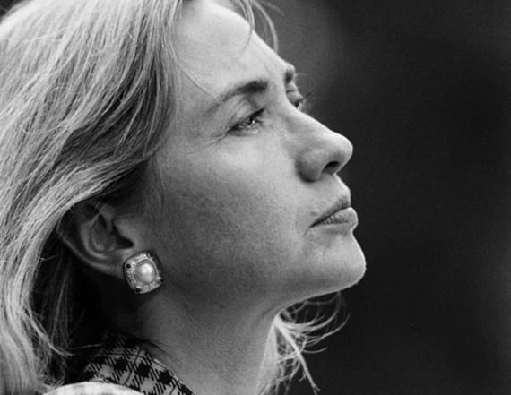 Never-before-seen photos of Hillary Clinton revealed