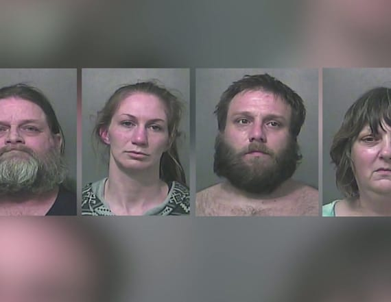 Four arrested after 9-year-old dies weighing 15 lbs