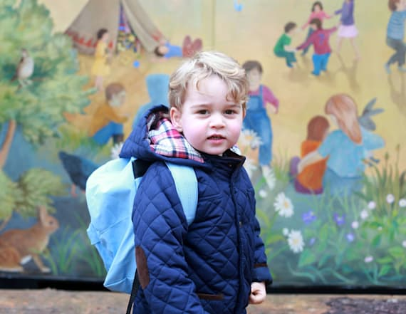Royals make big announcement about Prince George