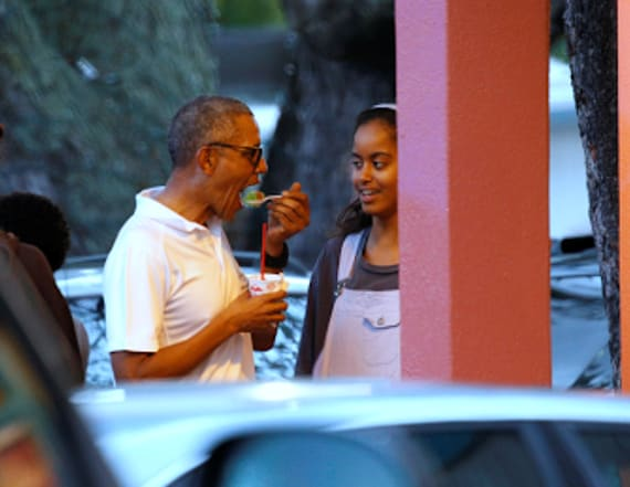 Photos of Malia Obama's secret foreign trip emerge