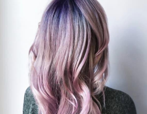 The internet is going crazy for new geode hair trend