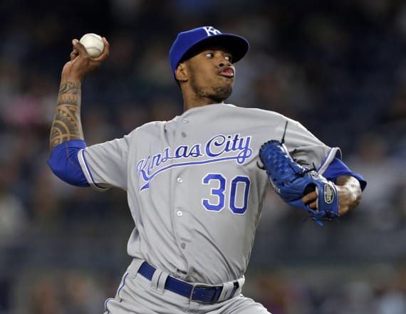 Royals pitcher Ventura killed in a car accident