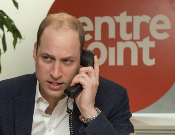 Why Prince William doesn't wear a ring on his finger