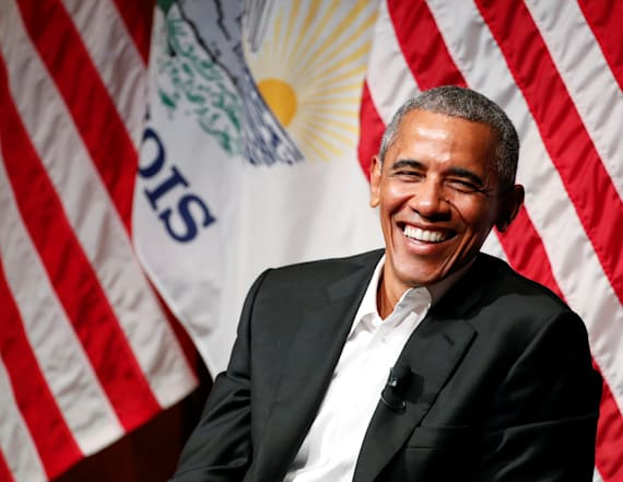 Obama opens up about his past in rare public event