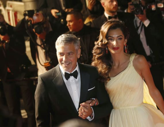George Clooney breaks his silence on baby news