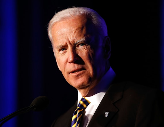 Biden blasts Trump admin for 'romance with Putin'
