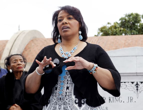MLK's daughter shares sweet tribute to her father