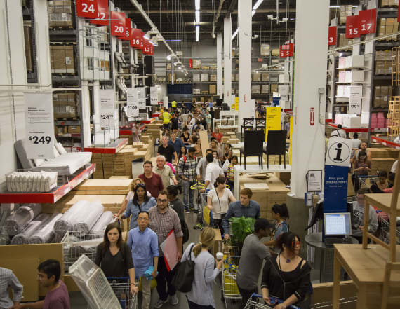 30 percent of Ikea shoppers go for unlikely reason