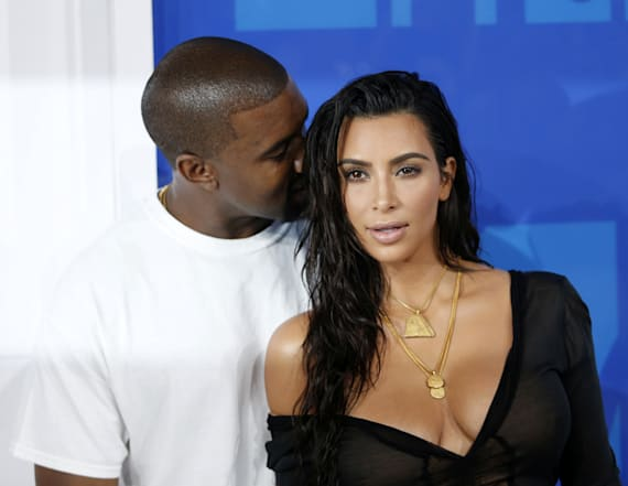 Kim Kardashian shares PDA pic of Kanye West
